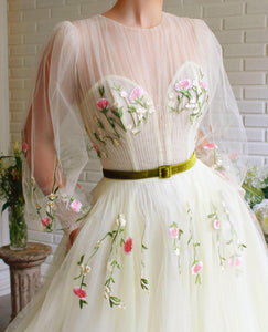 Dreamy Lilies Gown