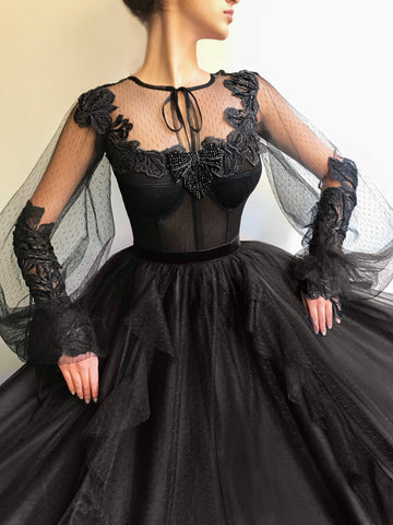 Eerie Passion TMD Gown