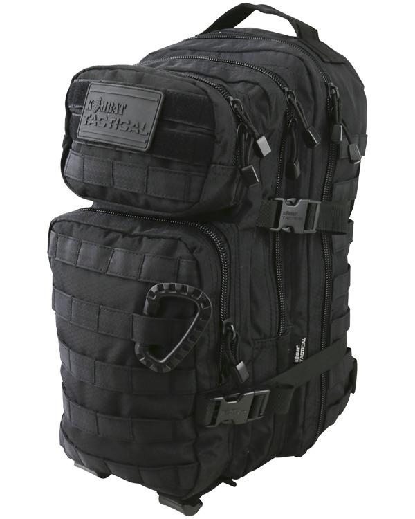 Bug Out Bag (Black) One Person 72hr Emergency Kit