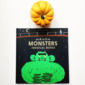 An A to Z of Monsters and Magical Beings by Rob Hodgson and Aidan Onn
