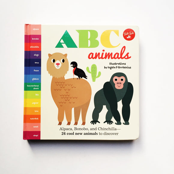 ABC Animals illustrated by Ingela P Arrhenius