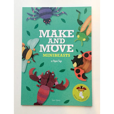 Make and Move Robots/Monsters/Mini beasts/Animals