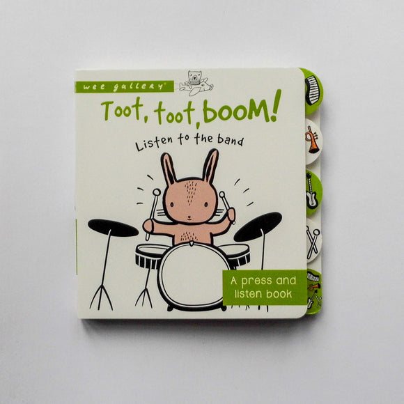 Toot Toot Boom! Listen to the band by Wee Gallery