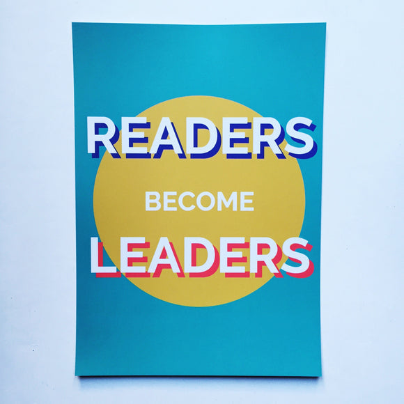 A4 READERS BECOME LEADERS print