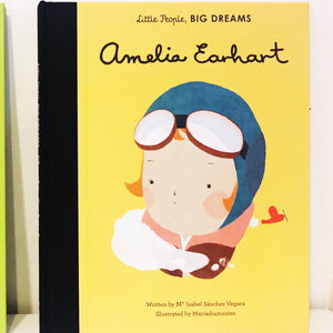 Little People Big Dreams 'Amelia Earhart'