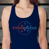 I'm The Firecracker Your Mother Warned You About Funny Sexy Tank Top for Women | Josh Turner firecracker T-Shirt Tank Top | 4th of July Sexy Tanks for Women - GuysandGirlsGeneral