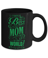 Mother's Day Coffee-Tea Black Mug Mom Wife Grandma Birthday Gift Mothers Day