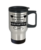 The Perfect Stepdaughter Love Christmas Holiday Gift Travel Coffee Mug!