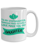 ❤ Stepdaughter Family Love Coffee Mug Makes The Perfect Christmas Gift! ❤