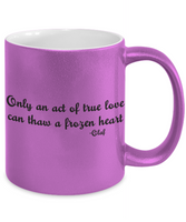 The Perfect Christmas Holiday Coffee Mug Gift For Olaf Frozen Lovers!