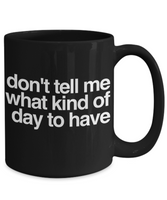 Funny Adult Black Coffee Mug! - GuysandGirlsGeneral