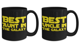 STAR WARS Couple (Aunt/Uncle) Coffee Mug Gift Set!- BLACK FRIDAY SALE