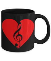 Perfect Christmas Holiday Gift Coffee Mug for The Music Lover!