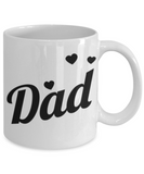 Dad Father's Day Birthday New Dad Coffee Mug Gift  for Dads - GuysandGirlsGeneral