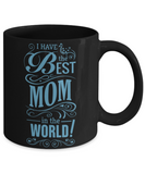 Mother's Day Coffee-Tea Black Mug Mom Wife Grandma Gift for Mothers Day