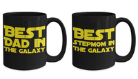 STAR WARS Couple (Dad/Stepmom) Coffee Mug Gift Set!- BLACK FRIDAY SALE