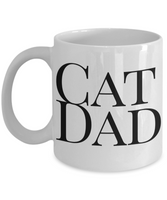 Cat Dad Funny Coffee Mug- Cat Coffee Mug Gift Father's Day Birthday Gift Idea - GuysandGirlsGeneral