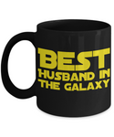 Star Wars Husband Black Coffee Mug- BLACK FRIDAY SALE Great Christmas Gift!
