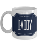 Daddy You're The Star Father's Day Birthday New Dad Coffee Mug Gift for Dads dy