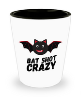 Bat Shot Crazy Halloween Adult Funny Shot Glass! - GuysandGirlsGeneral