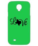 Texas Love Strong Christmas Holiday Gift iPhone and Samsung Case!