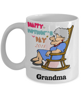 Mother's Day Coffee- Tea White Ceramic Mug Grandma Great Grandma Gift for Grandmothers