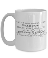 Perfect Christmas Holiday Faith Gift Coffee Mugs for The Believer!