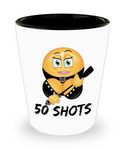 Perfect Christmas Holiday Gift - Adult Funny Sexy 50 Shots Glass!