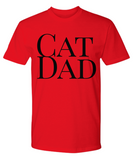 Cat Dad Funny T-Shirt-Cat Shirt Gift Father's Day Birthday Gift Idea - GuysandGirlsGeneral