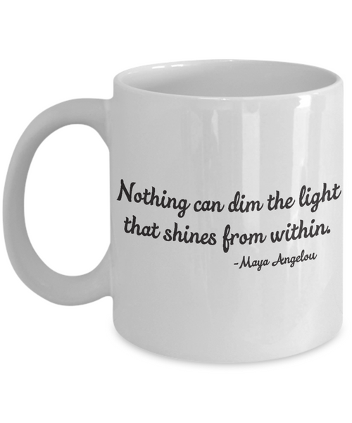 The Perfect Christmas Holiday Coffee Mug Gift For The Inspired Woman!