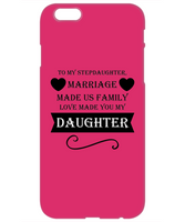 Perfect Stepdaughter Love Christmas Holiday Gift iPhone and Samsung Phone Case!