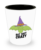 Funny Green Bat Shot Crazy Halloween Adult Shot Glass! - GuysandGirlsGeneral