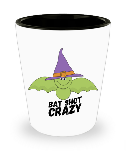 Funny Green Bat Shot Crazy Halloween Adult Shot Glass!