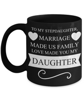 ❤ Stepdaughter Love Christmas Coffee Mug ❤