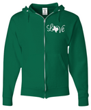 Texas Love Strong Christmas Holiday Gift Zip Hoodie!