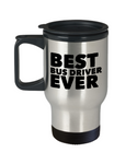 Best Bus Driver Shout Out Travel Coffee Mug!