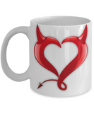 Perfect Christmas Holiday Gift Coffee Mug for The Sexy Naughty Devil!