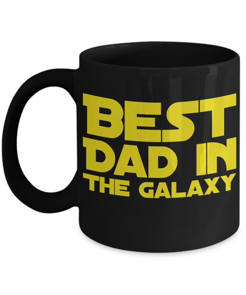 Star Wars DAD Black Coffee Mug Gift!
