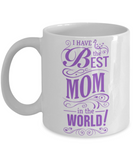 Mother's Day Coffee-Tea White Mug Mom Wife Grandma Birthday Gift Mothers Day