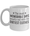 The Perfect Christmas Holiday Coffee Mug Gift For Lovers of Happy Memories!