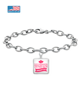 ❤ Stepdaughter Love Personal Bracelet Makes The Perfect Christmas Gift! ❤