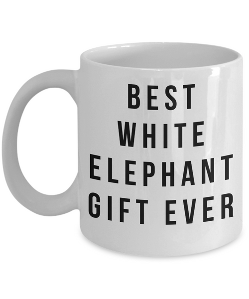 Best White Elephant Gift- Funny Coffee Cup- White Elephant Mug- Unique Gifts Idea Coworker Gag Gift - GuysandGirlsGeneral
