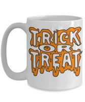 Trick or Treat Happy Halloween Coffee Mug