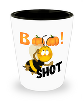 Funny Boo Bee Halloween Adult Shot Glass! - GuysandGirlsGeneral
