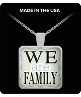 Beautiful Square Necklace for Every Special Family Member in Your Life! - GuysandGirlsGeneral