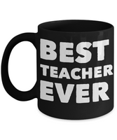 Perfect Gift Coffee Mug For Favorite Teacher!