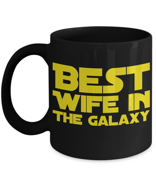 Star Wars Wife Black Coffee Mug-Mother's Day Birthday Gift!