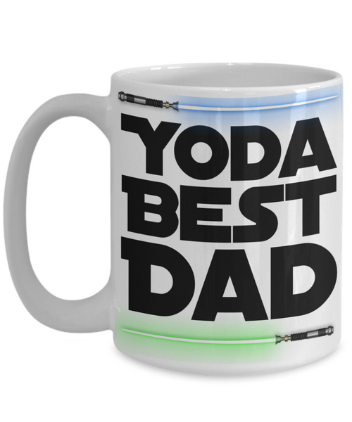Yoda Best Dad Ever Coffee Mug Yoda Mug Star Wars Coffee Cup