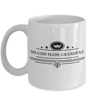 The Perfect Christmas Holiday Gift Royal Coffee Mug for The Best Grandpa Ever!