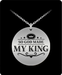 My King Laser Necklace- BLACK FRIDAY SALE